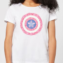 marvel-captain-america-flower-shield-women-s-t-shirt-white-3xl-wei-, 17.49 EUR @ sowaswillichauch-de