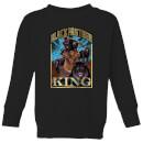 marvel-black-panther-homage-kids-sweatshirt-black-11-12-jahre-schwarz