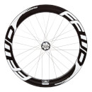 Fast Forward F6T Track Tubular Rear Wheel White