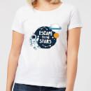 escape-to-the-stars-women-s-t-shirt-white-5xl-wei-