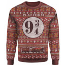 Harry Potter Platform 9 3/4 Christmas Knitted Jumper
