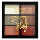 NYX professional makeup Love Lust and Disco Get Down Foil Play Shimmer Eyeshadow Palette - 17,45 €