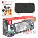 Nintendo Switch Lite (Grey) Overwatch Pack