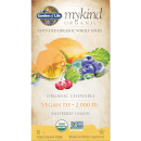 mykind Organics Vitamina D3 vegana in compresse masticabili - lampone e limone - 30 compresse masticabili