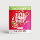 Myvegan Clear Vegan Protein, 16g (Sample) - 16g - Erdbeere