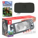 Nintendo Switch Lite (Grey) Minecraft Pack