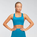 MP Women's Shape Seamless Ultra Sports Bra - Sea Blue - XS