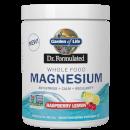 Magnesio in polvere gusto lampone e limone 421,5 g