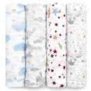 aden + anais Iconic Harry Potter™ Swaddles (4 Pack)