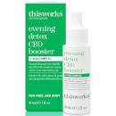 this works Evening Detox CBD Booster and AHA Complex