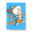 Flintstones New Baby Greetings Card