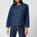 A.P.C. Women's Lucille Jacket - Indigo