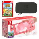 Nintendo Switch Lite (Coral) Animal Crossing: New Horizons - Digital Download Pack
