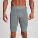 MP Men's Essentials Training Baselayer Shorts - Storm - XXS