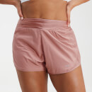 MP Women's Velocity Double Layered Shorts- Washed Pink - L