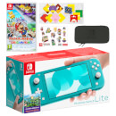 Nintendo Switch Lite (Turquoise) Paper Mario: The Origami King Pack