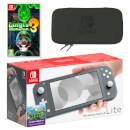 Nintendo Switch Lite (Grey) Luigi's Mansion 3 Pack