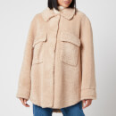Whistles Women's Teddy Overshirt - Beige