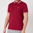 BOSS Athleisure Men's Paddy Pique Polo Shirt - Dark Red