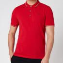 HUGO Men's Dinoso211 Polo-Shirt - Open Pink