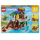 LEGO Creator: 3 in 1 Surfer Beach House Building Set (31118)