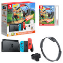 Nintendo Switch (Neon Blue/Neon Red) Ring Fit Adventure Set