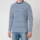 Barbour Stormforce Men's Matelot Long Sleeve T-Shirt - Blue