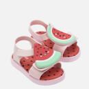 Mini Melissa Toddlers' Mini Jump Fruitland Sandals - Watermelon