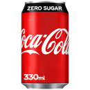 Coca-Cola Zero Sugar 330ml - Personalised Can - Male Wedding