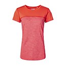 Women's Voyager Tech Tee SS Crew - Red