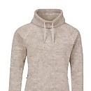 Women's Canvey Half Zip Fleece - Black / Silver