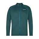 Men's Caldey Fleece Jacket - Turquoise