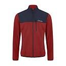 Men's Kyberg Polartec Fleece Jacket - Red / Blue