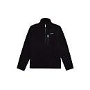 Unisex Prism Half Zip Fleece - Black