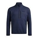 Men's Carnell Half Zip Fleece - Blue