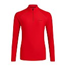 Women's 24/7 Long Sleeve Zip Base Layer - Red