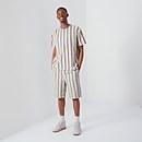 Short Sleeved Striped T-shirt