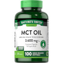 100% Pure MCT Oil Softgels 1200mg