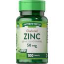 Chelated Zinc 50mg