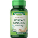 Standardised Korean Ginseng 500mg - 75 Capsules