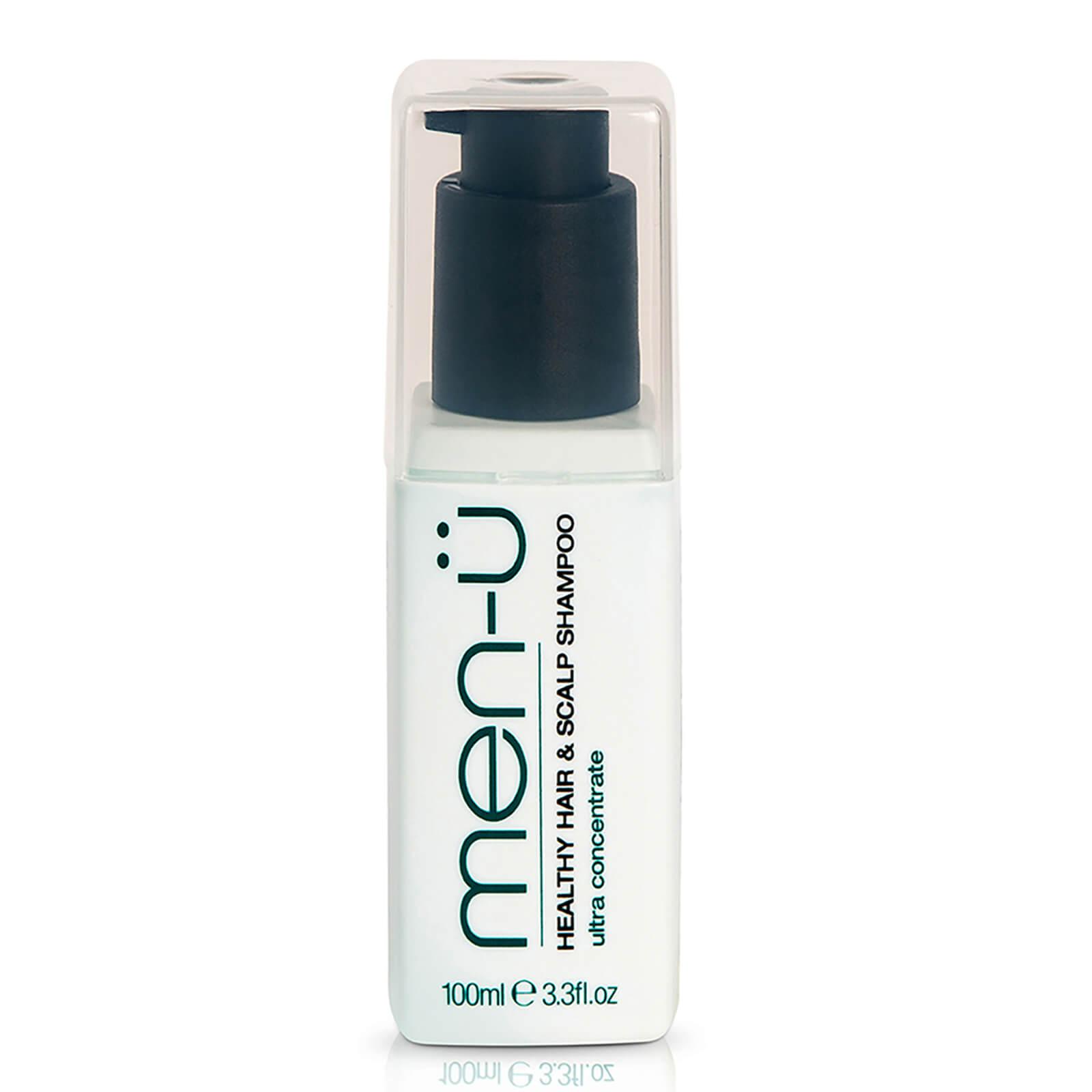Look Fantastic coupon: men-u Healthy Hair & Scalp Shampoo 3oz