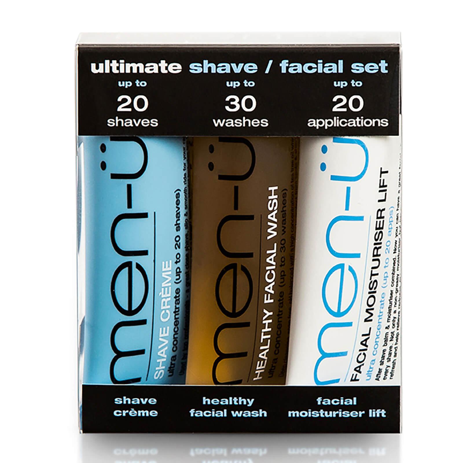 Look Fantastic coupon: men-u Ultimate Shave Facial Set