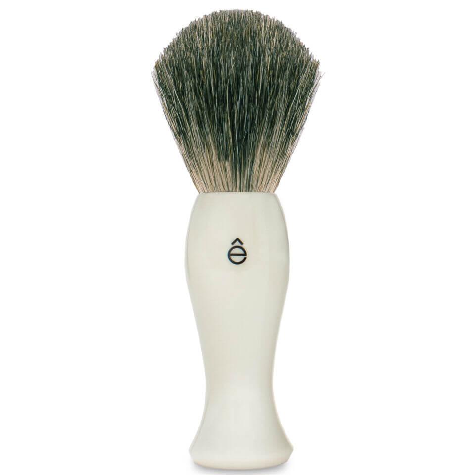Look Fantastic coupon: eShave Long Shave Brush Plastic Handle White