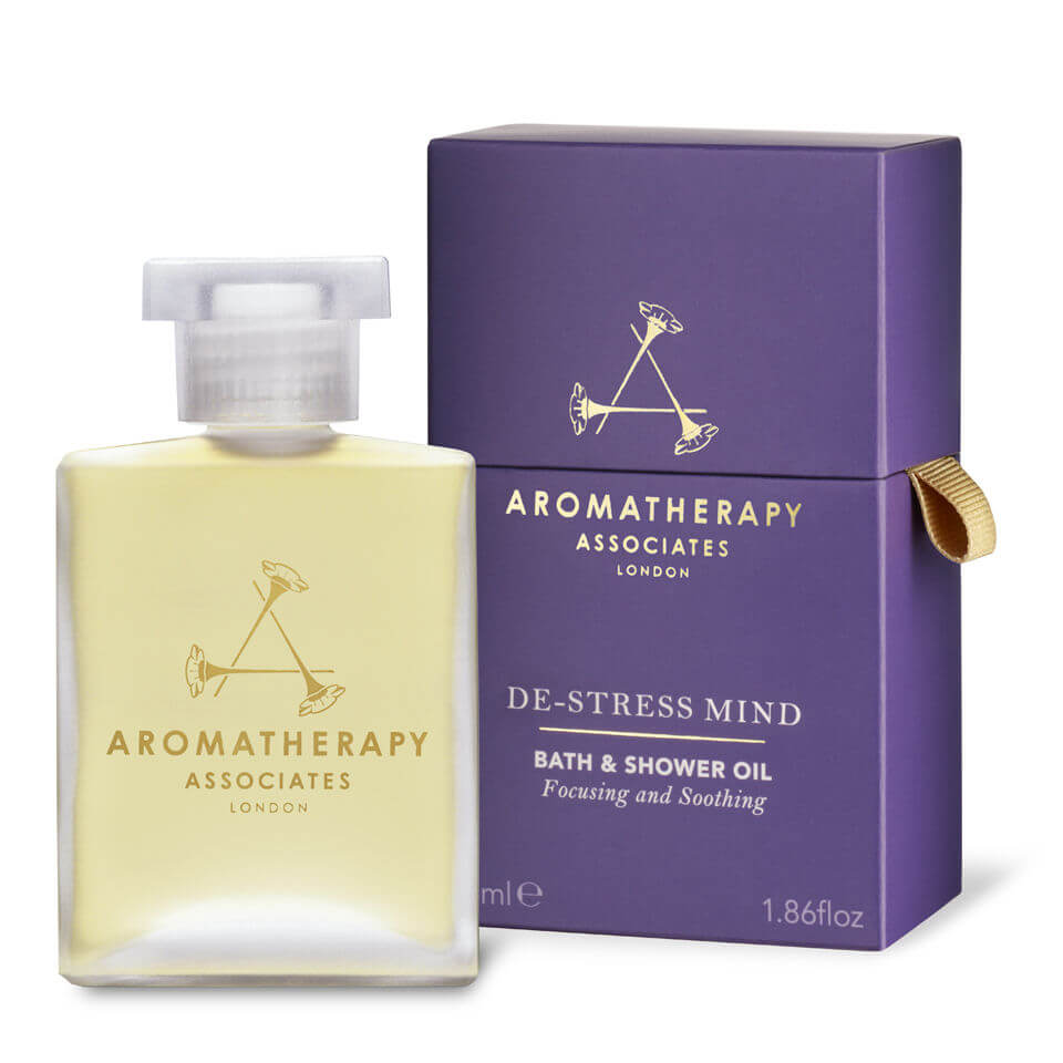 Купить Снимающее напряжение масло для ванны и душа Aromatherapy Associates De-Stress Mind Bath & Shower Oil (55мл)
