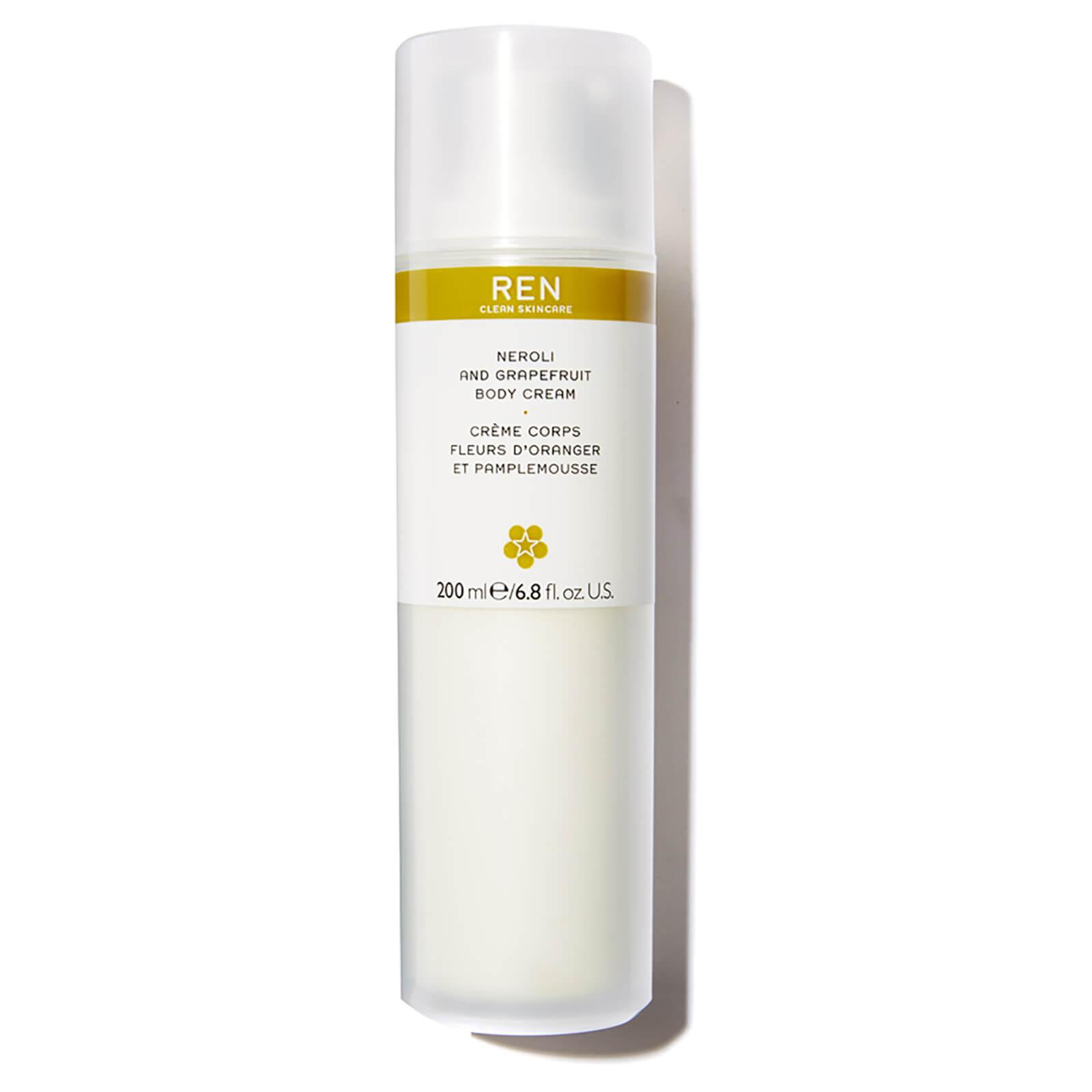 REN Clean Skincare Neroli and Grapfruit Body Cream 200ml