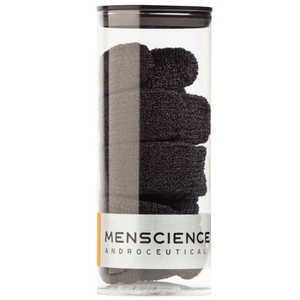 Menscience guanti esfolianti per il corpo