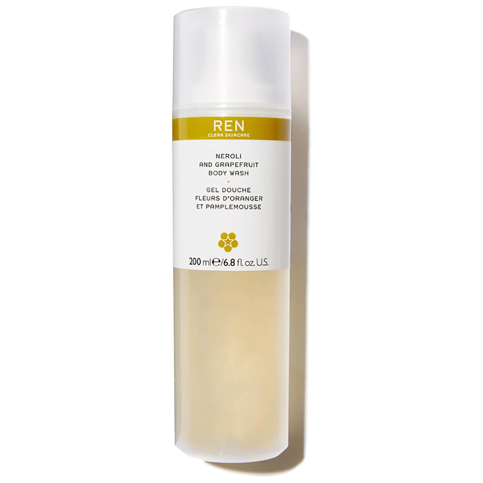REN Clean Skincare Neroli And Grapefruit Zest Body Wash 200ml