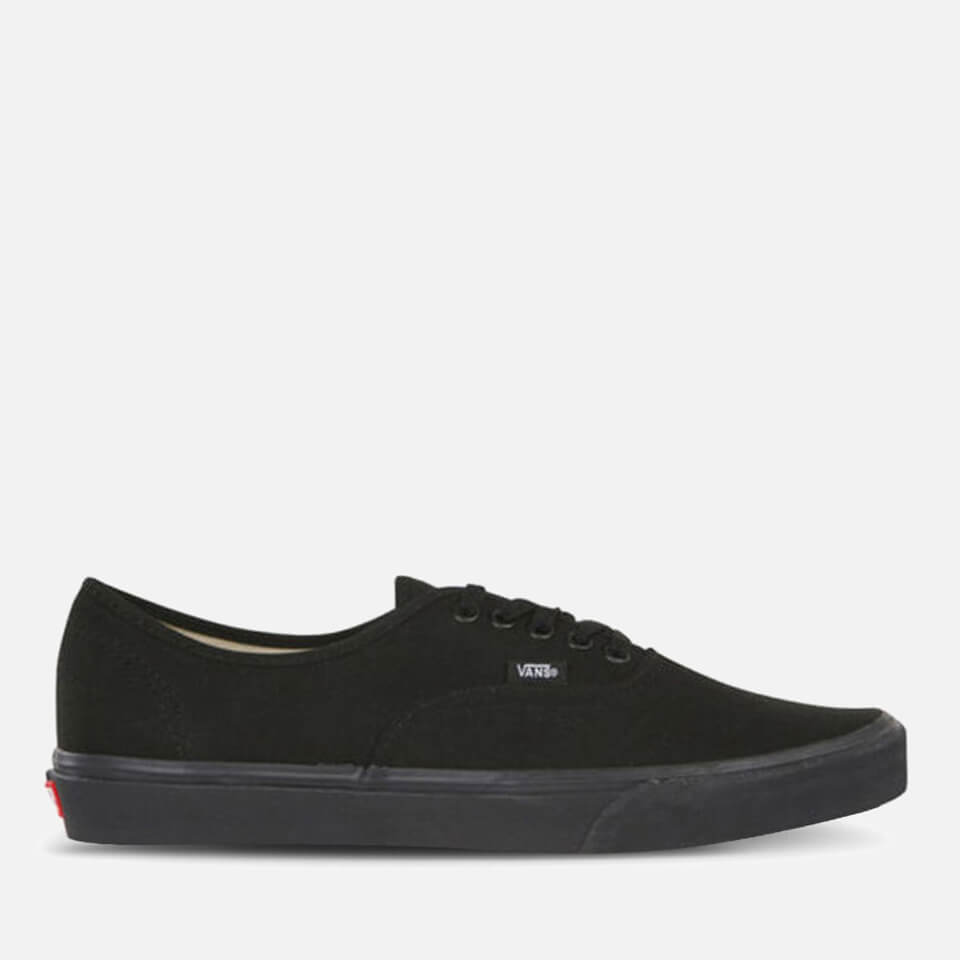 Vans Authentic Trainers Black Black Uk 11