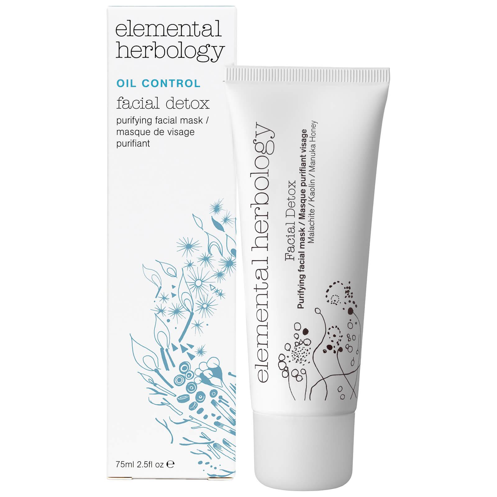 Elemental Herbology Facial Detox Purifying Facial Mask 75ml