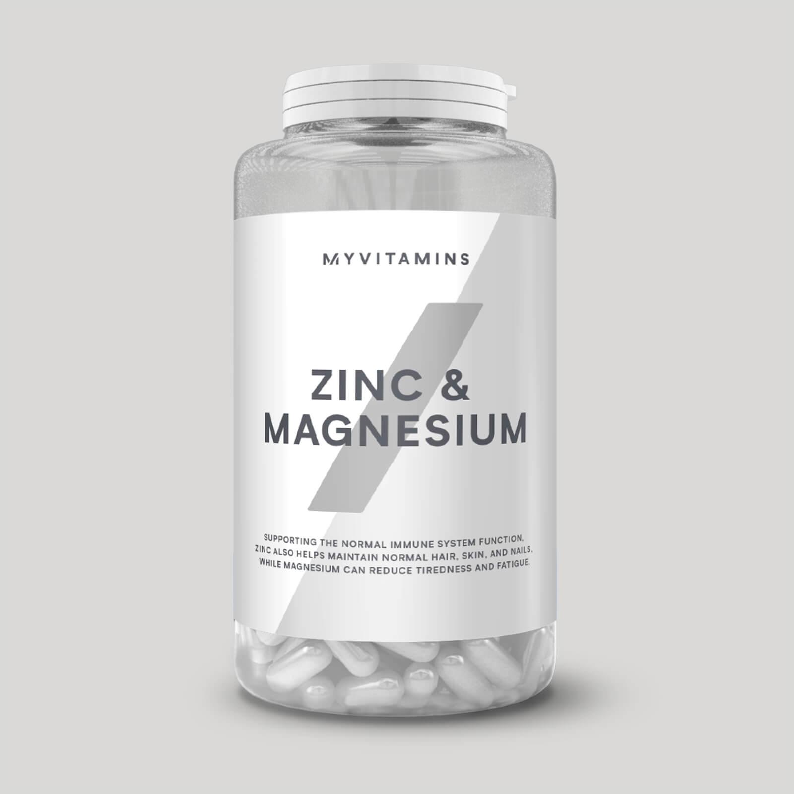 Zinc et magnésium en gélules - 270Gélules
